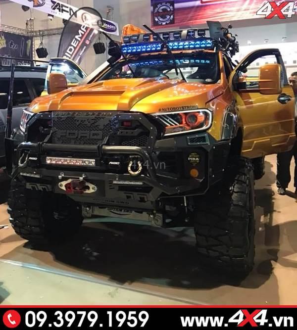 Cận cảnh chiếc bán tải Ford Ranger độ đẹp nhất thế giới - Hình 16