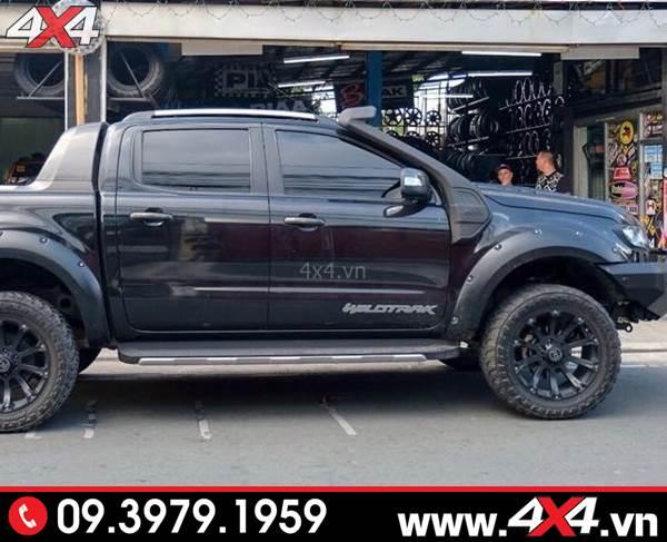 Ống thở độ đẹp và tiện lợi cho xe bán tải Ford Ranger