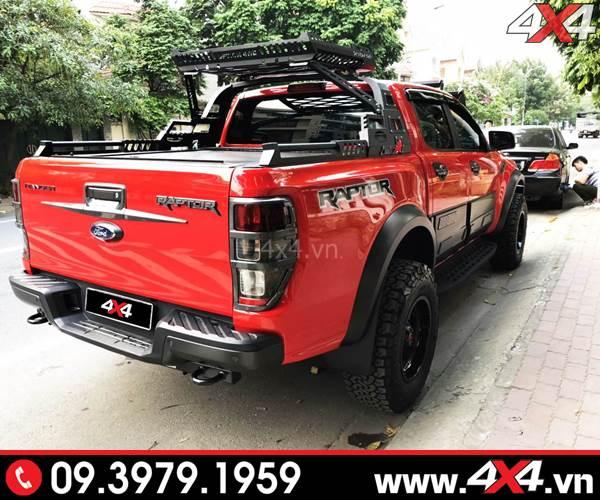 Chiếc bán tải Ford Ranger Raptor độ đẹp, ngầu và khủng - Hình 6