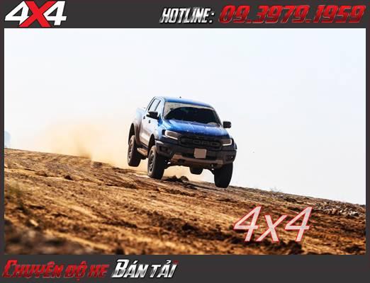Xe bán tải Ford Ranger Raptor 2020 động cơ 2.0L