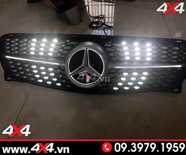 Mặt nạ diamond sport light độ đẹp và sang trọng dánh cho xe mercedes benz C Class