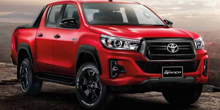Toyota Hilux facelift 2018