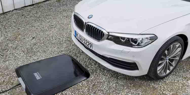 BMW incarcare inductiva wireless