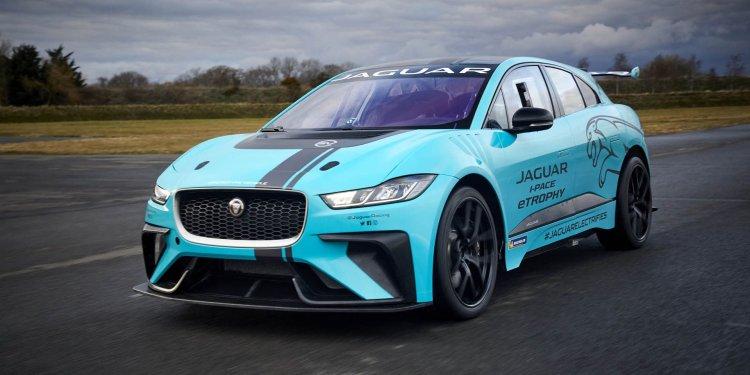 Jaguar I-Pace SVR e-Trophy