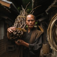 Portrait of a Japanese Man