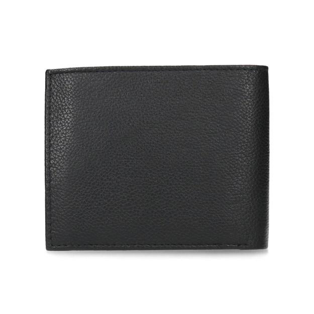 Pánská klasická peněženka z černé kůže padne do každé kapsy. Přední stranu  zdobí na spodním rohu vytlačené vroubky. Uvnitř je praktická kapsička na  drobné ... e780f0f645