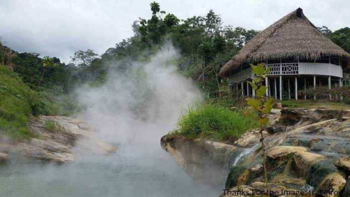 Mayantuyacu the hot river in the world