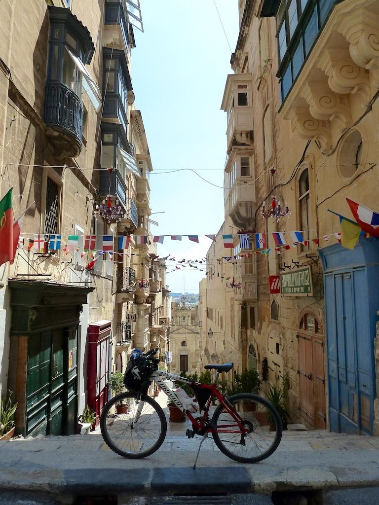 Malta -  mit dem Rad erkundet