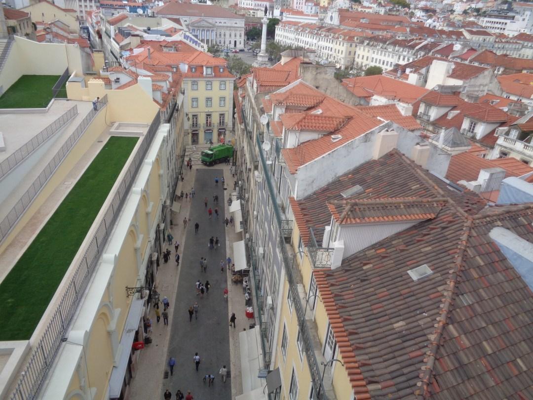 miradouro do carmo miradouro de santa justa lisboa portugal terraços do carmo ruínas do convento do carmo largo do carmo