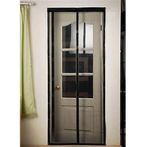 hands free screen net door with magnets