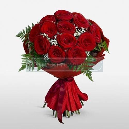 Image Of Red Rose Buke