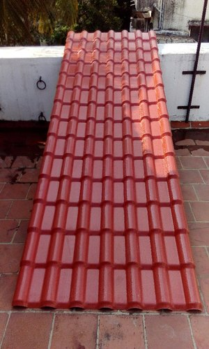 spanish tile profile upvc roofing sheet