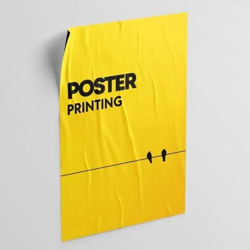 12x18 digital printed poster