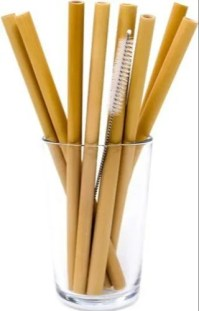 Drinking Bamboo Straws at Rs 5/piece | Bamboo Straw | ID: 20515274648