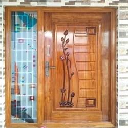 Brown Stylish Entrance Door Rs 4000 Square Feet Raja Wood Metal Engravings Id 14489938062