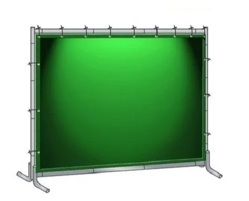 pvc welding curtains with frame
