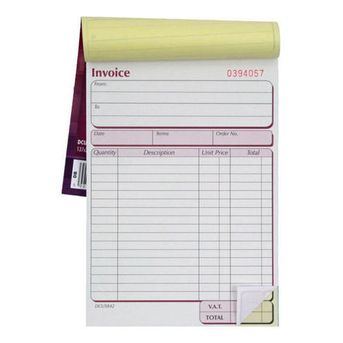Office Bill Book at Rs 95  piece   Invoice Book   ID  15915568848 Office Bill Book