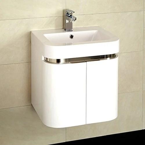 wall mounted wash basin cabinet