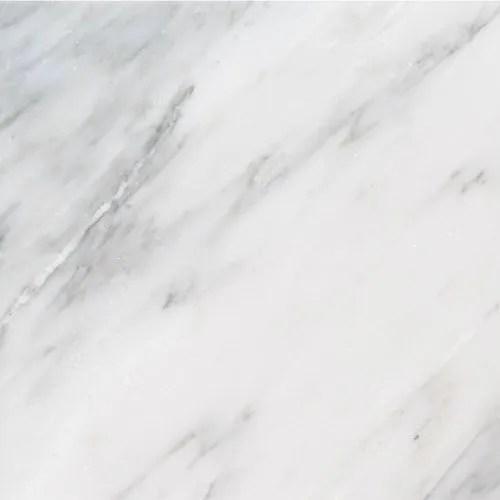 white polished marble tile
