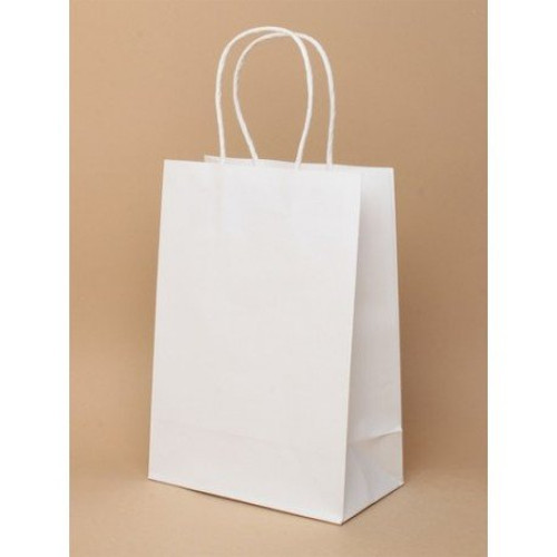 Saattvic White Paper Bag, Rs 11.35 /piece, Saattvic ...