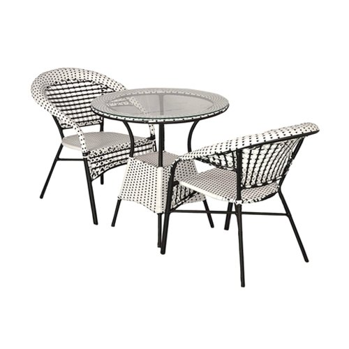 india outdoor patio furniture 2 chairs and table set