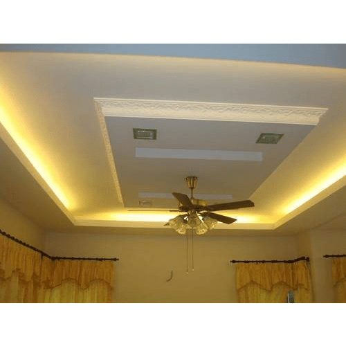 Gypsum board for false ceiling energywarden