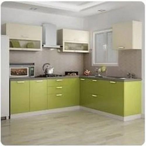 Simple L Shape Low Cost Kitchen Design