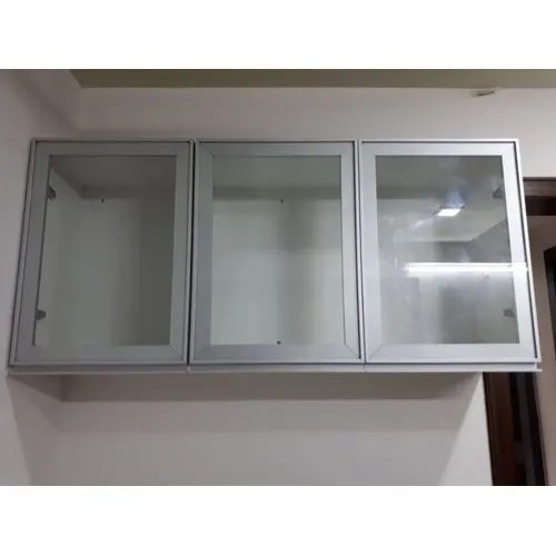 Wall Mounted Kitchen Cabinet Door Kitchen Shelf Organizer Kitchen Storage Kitchen Cabinet Storage Kitchen Storage Furniture À¤°à¤¸ À¤ˆ À¤• À¤¸ À¤— À¤°à¤¹à¤£ À¤° À¤• Kun Glass Aluminium Nashik Id 20513042773