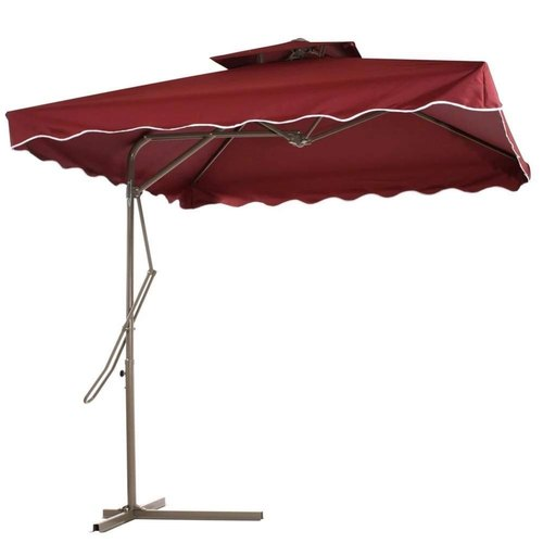 2x2 meter wide easy to operate outdoor patio umbrella with 8 sturdy ribs and tilt adjustment