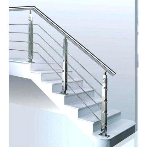 Stairs Railing Designs At Rs 600 Running Feet स्टेनलेस | Stairs Railing Designs In Steel | Outdoor | Wrought Iron | Creative | Staircase Railing | Luxury