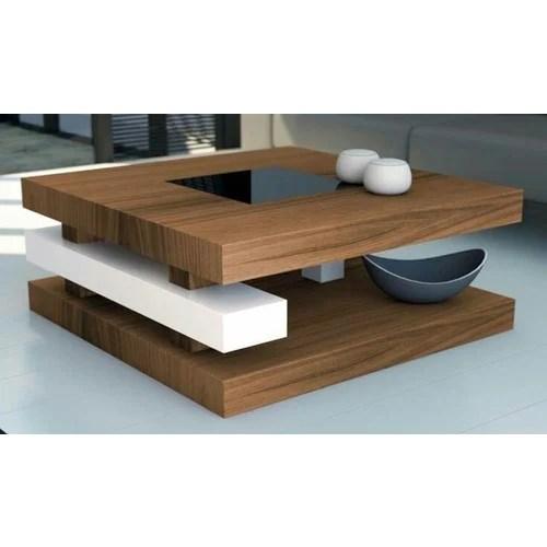 modular wooden center table