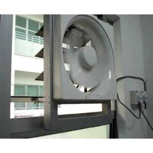 exhaust fan ventilator window