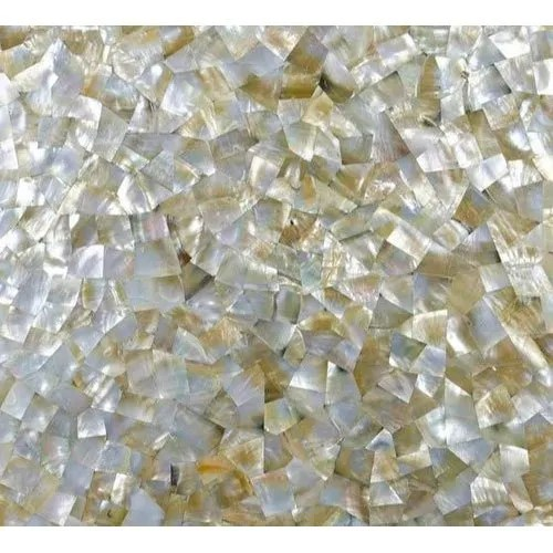 mother of pearl gold stone tile