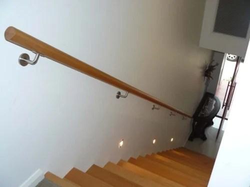Stair Handrail Wall Mounted – Paulbabbitt Com | Wall Mounted Stair Railing | Rustic Wooden Handrail | Wall Mount Window | 90 Degree Stair | Drawing Wall | Wall Fixed Metal