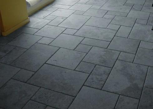 concrete floor tiles installation service
