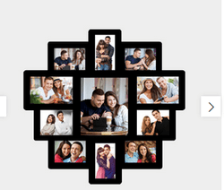 Black MDF Photo Collage Frame PCF 14, Rs 1400 /piece ...