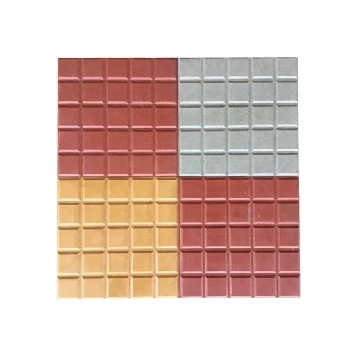square interlocking tile