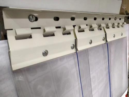 pvc strip curtain bracket hanger