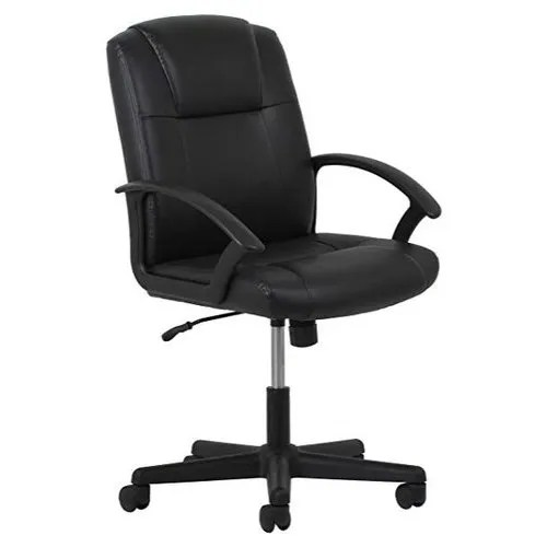 Black Leather Computer Chair Rs 5000 Unit M S R K Enterprises Id 17144191888