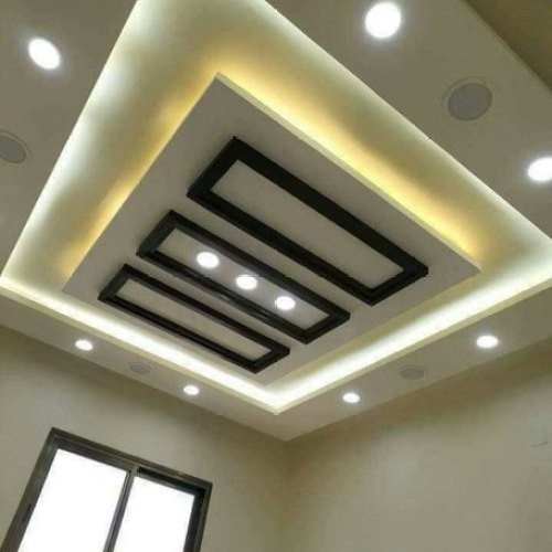 Bedroom Interior Gyproc Gypsum False Ceiling Designer ...
