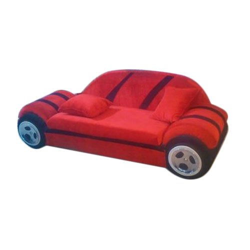 modern red car shape sofa