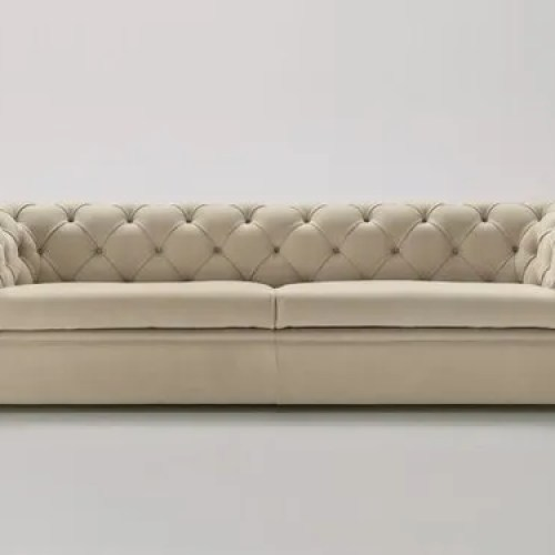 Modern Off White Cream Etc 2 Seater Living Room Sofa For Home Rs 120000 Piece Id 4033207788