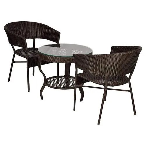 blinq outdoor patio furniture 2 chairs and table set