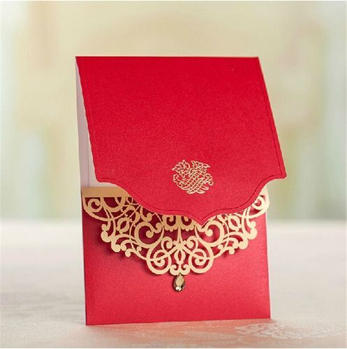 Indian Wedding Cards At Rs 5 Piece