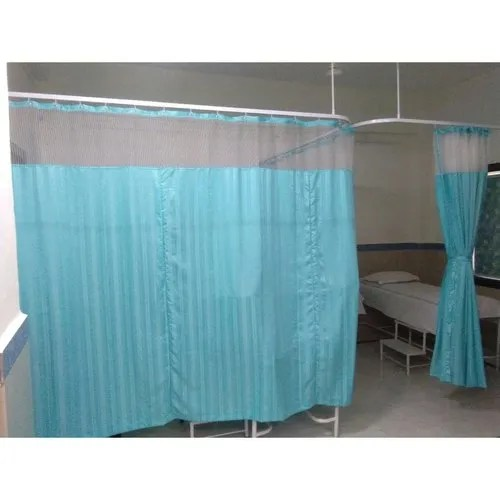 hospital privacy curved curtain track