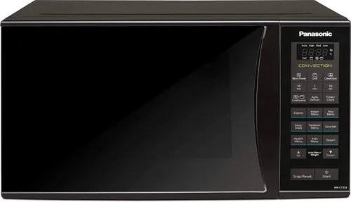 panasonic 23l convection microwave oven nn ct353bfdg black mirror