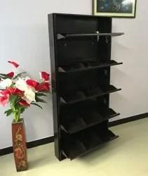 mild steel wall mounting shoe rack