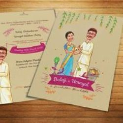 Wedding Card Ilration Service