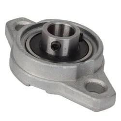 12mm inner diameter zinc alloy pillow block flange bearing kfl001