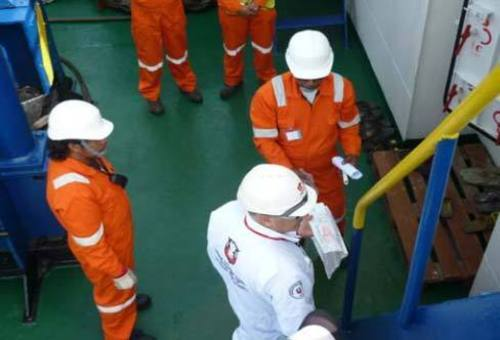 Vetting inspection. Some companies give vetting bonus to their crew after a successful inspection.